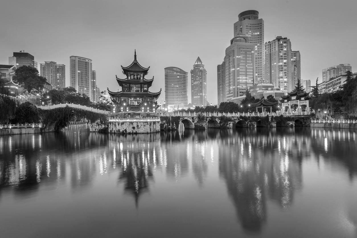 China skyline