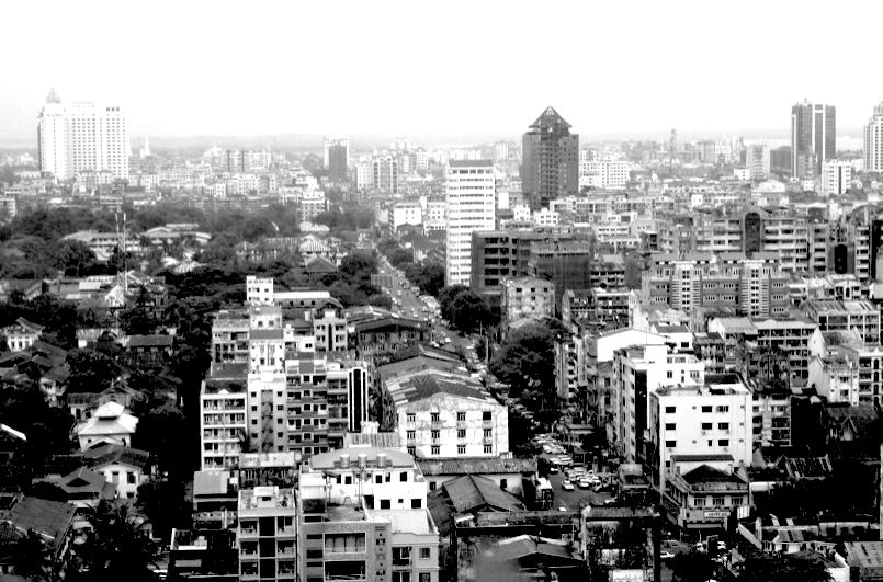 Myanmar cityscape