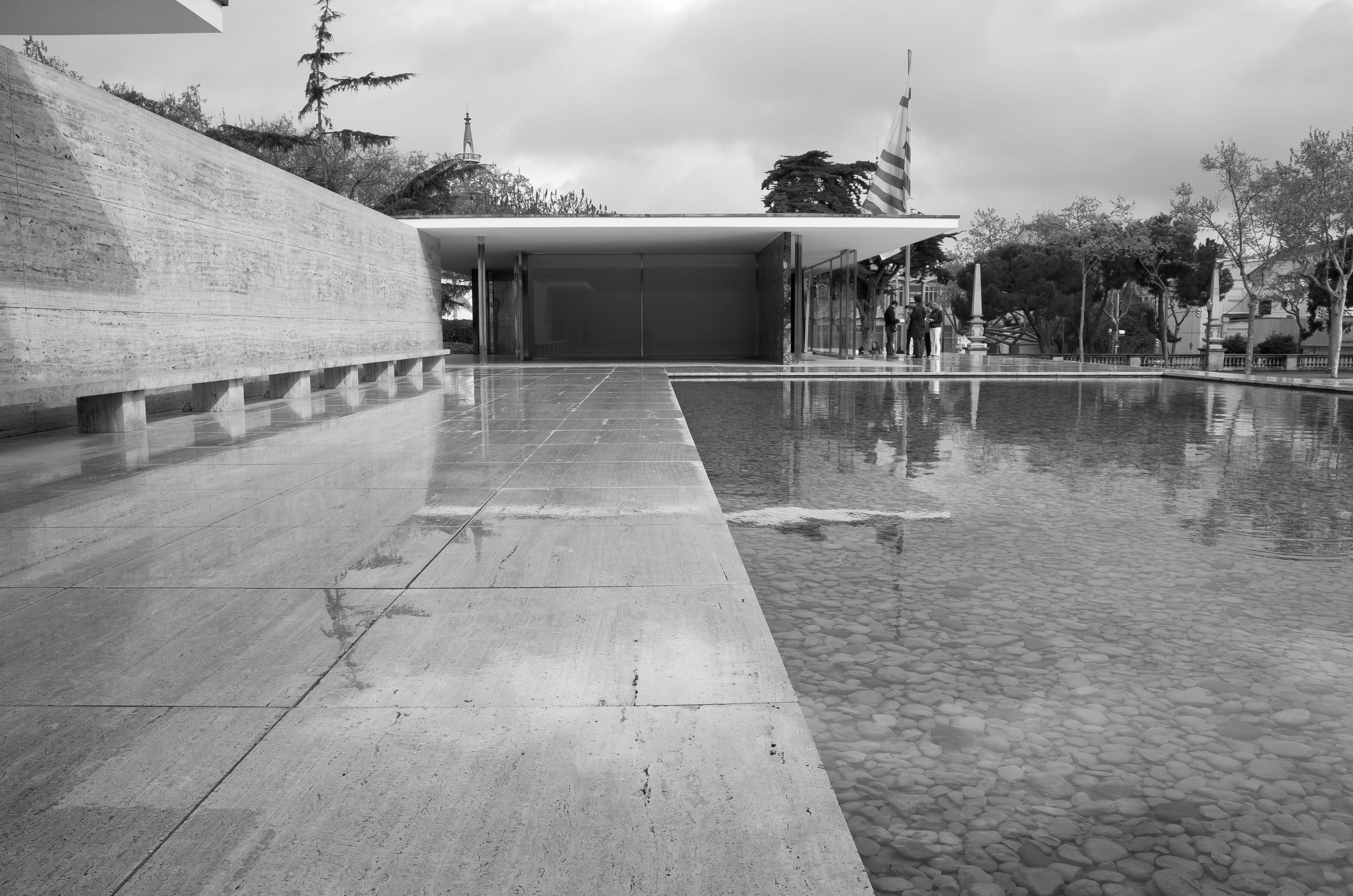 Pavillon Mies van der Rohe, Barcelona, Spain
